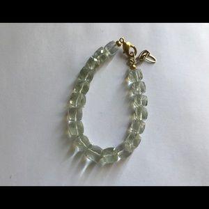 Green Amethyst Quartz Bracelet